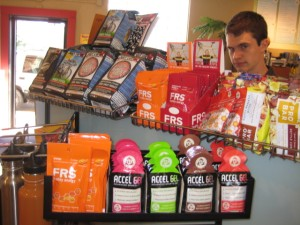 New FRS and Accelerade Energy Packets - and then there's Evan.